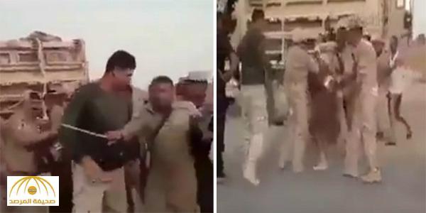 بالفيديو .. ميليشيات الحشد الشيعي في وصلة تعذيب لنازحين من الموصل