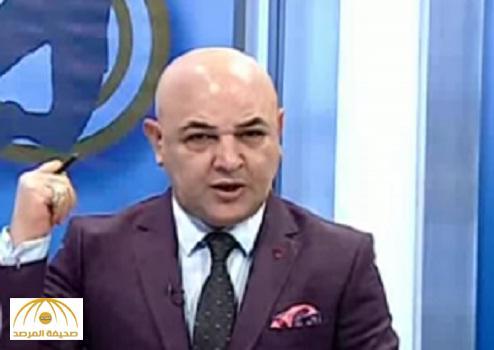 بالفيديو .. مذيع عراقي يهاجم المنتخب السعودي : سنكسر خشومكم