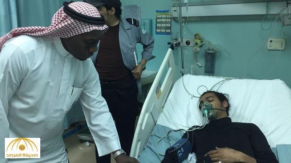 هكذا أنقذ رجل أمن سعودي 17 طبيبة من الموت حرقاً – صورة