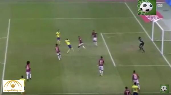 بالفيديو : النصر يسحق الرائد بثلاث أهداف مقابل هدف