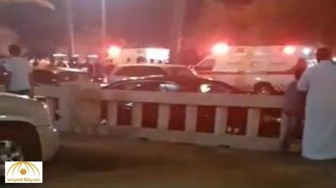 """""""معركة دامية"""" تتسبب في إصابات وطعنات وإعتداءات على النساء بمتنزه في بيش"""