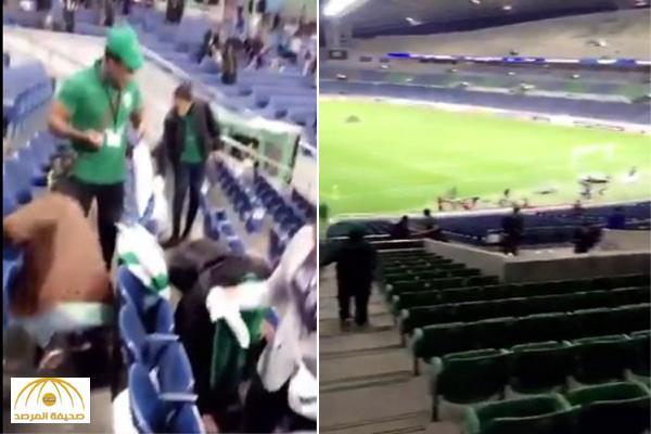 بالفيديو والصور: شاهد ماذا فعلت الجماهير السعودية في المدرجات بعد مباراة اليابان !