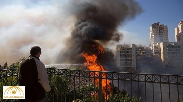 بالصور : الحرائق المستعرة ترعب إسرائيل .. وثالث أكبر مدينة بخطر