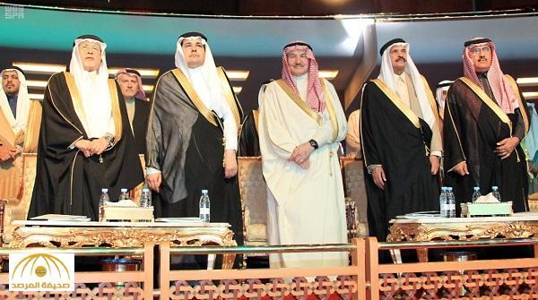 بالصور : الطريفي يفتتح مؤتمر الأدباء السعوديين الخامس