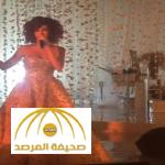 بالفيديو:ميريام فارس ترقص بفستان مرصع بالألماس في حفل زفاف عائلة إماراتية!