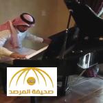 """بالفيديو.. فنان سعودي يعايد """"فيروز"""" بمقطوعة موسيقية قبل رحيله"""