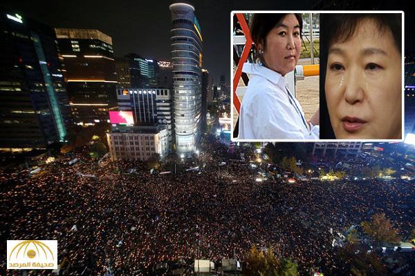 بالصور .. اشتعال المظاهرات في كوريا الجنوبية بعد فضيحة الرئيسة و صديقتها