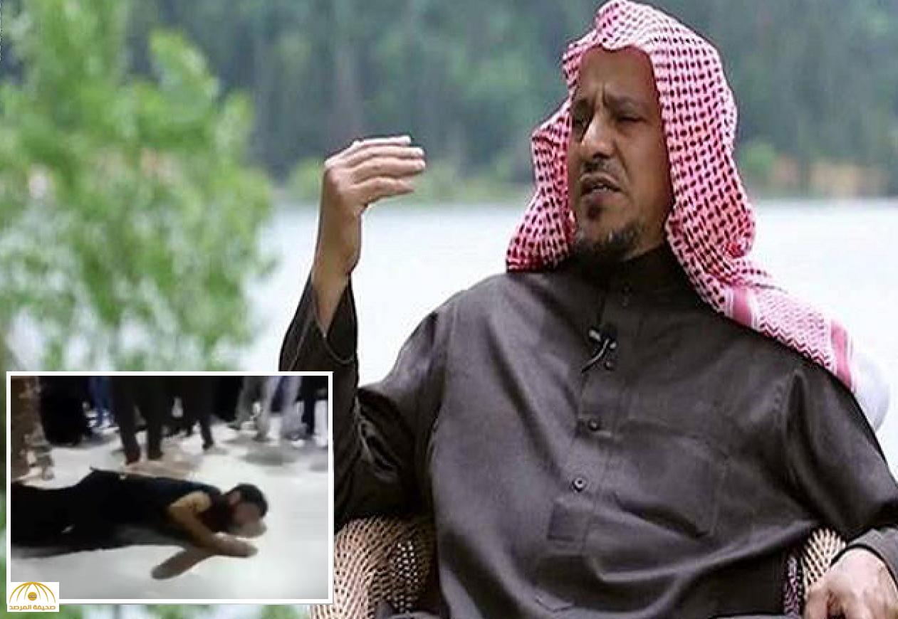 """البريك يعيد نشر فيديو يظهر قيام """" شيعة بالزحف"""" عند قبر الحسين ويصفه بالشرك"""