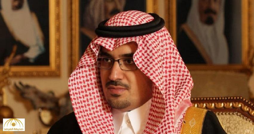 """نواف بن فيصل يرد على إعلامي وصف بطولة والده بـ""""التنشيطية"""""""