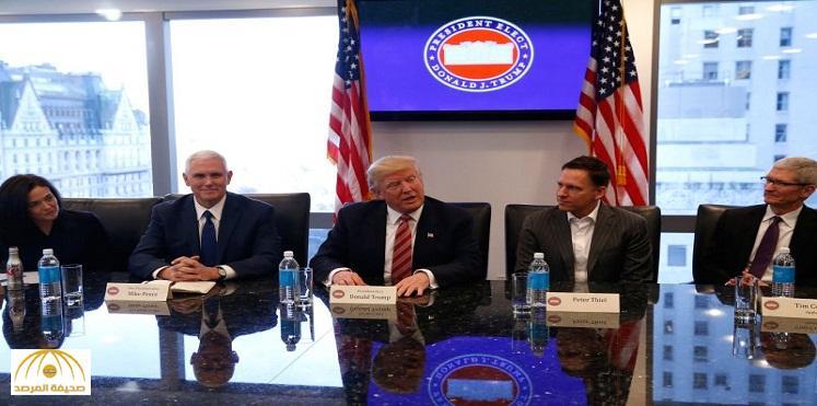 """كيف انحنى """"وادي السيليكون"""" وعمالقته للرئيس ترامب؟"""