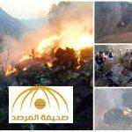 بالفيديو و الصور : تحطم طائرة باكستانية وعلى متنها 47 شخصاً
