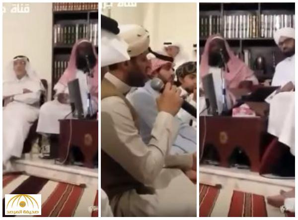 """بالفيديو: الشيخ  """"الكلباني"""" يظهر في جلسة إنشاد للمتصوفين"""