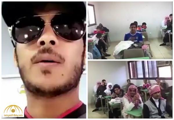 «فيحان بين طلابنا» يجتاح «تويتر» عقب ظهوره داخل إحدى المدارس يقدم نصائح – فيديو