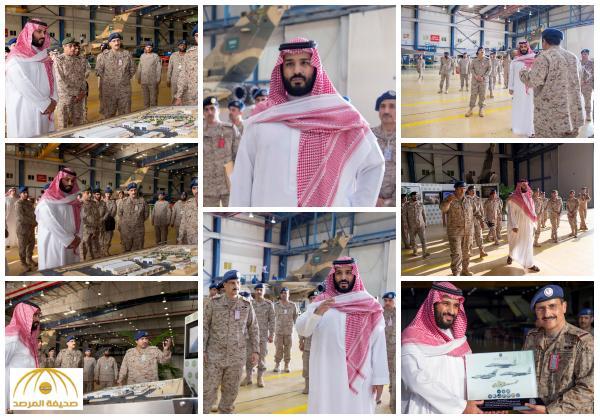 بالصور :ولي ولي العهد يتفقد برنامج تطوير مقاتلات التورنيدو السعودية