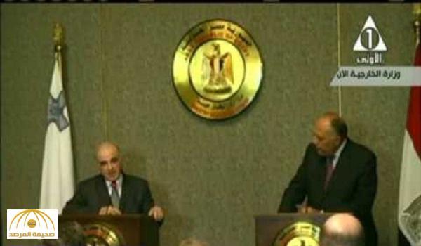 بالفيديو: سامح شكري يتعرض لموقف محرج خلال مؤتمر صحفي مع وزير خارجية مالطا