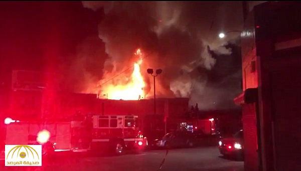 بالفيديو والصور : قتلى و مفقودين في حريق خلال حفلة موسيقية بكاليفورنيا
