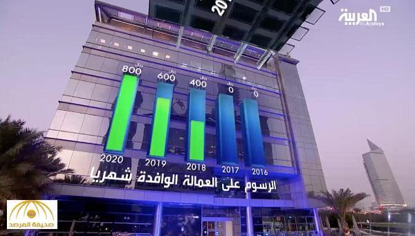 بالفيديو : تعرف على تفاصيل الرسوم الشهرية على العمالة الوافدة في المملكة