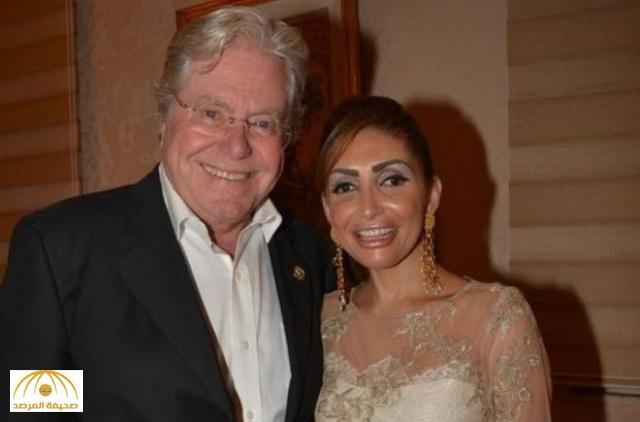 """مفاجأة في قضية طلاق الفنان حسين فهمي من زوجته السعودية """" رنا القصيبي """""""