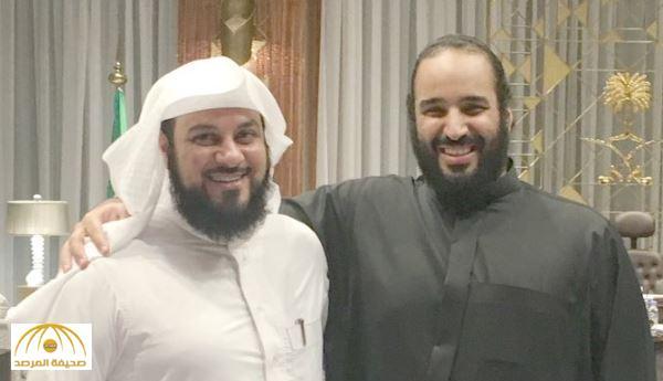 الشيخ «العريفي» ينشر صورة جمعته بـمحمد بن سلمان .. ويكشف ما دار بينهما