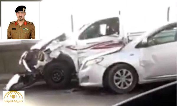 المرور يوضح ملابسات حادث صدم 10 سيارات على الجسر المعلق .. ويكشف معلومات جديدة عن الجاني !