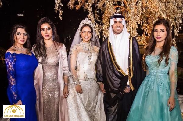 بالفيديو و الصور : لجين عمران و مهيرة عبدالعزيز و علا الفارس في زفاف بلقيس فتحي