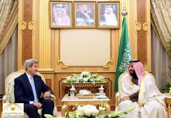 ولي ولي العهد يجتمع مع وزير الخارجية الأمريكي ويستعرضان تطورات الأحداث الإقليمية