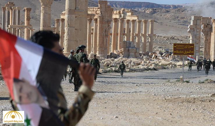 فرار جنود الأسد وحزب الله اللبناني من مدينة تدمر يغضب الروس
