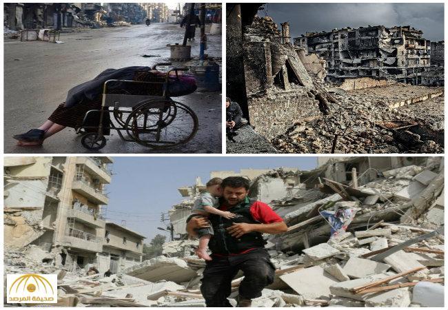 """بالصور: شاهد مدينة """"حلب""""  من أجل أن يكون بشار الأسد رئيسا!"""