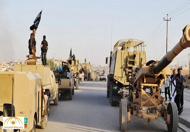 أسلحة وآليات النظام السوري بحوزة داعش في الأنبار العراقية