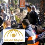 مقتل 6 من رجال الشرطة بتفجير استهدف كميناً بشارع الهرم وسط القاهرة-صور