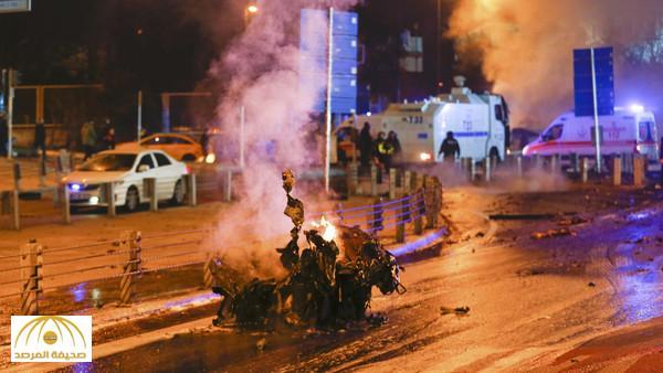 بالصور : انفجاران يهزان اسطنبول .. وأكثر من 20 جريحاً
