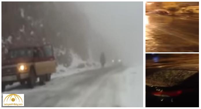 بالفيديو: ناشطون يوثقون نزول البرد في الجوف.. و الأرصاد تكشف حقيقة تساقط الثلوج على شمال الرياض