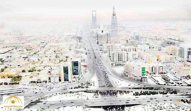 """المرصد الأوروبي :سقوط """"ثلج""""  على الرياض…ومغردون هل سيعطونا إجازة !"""