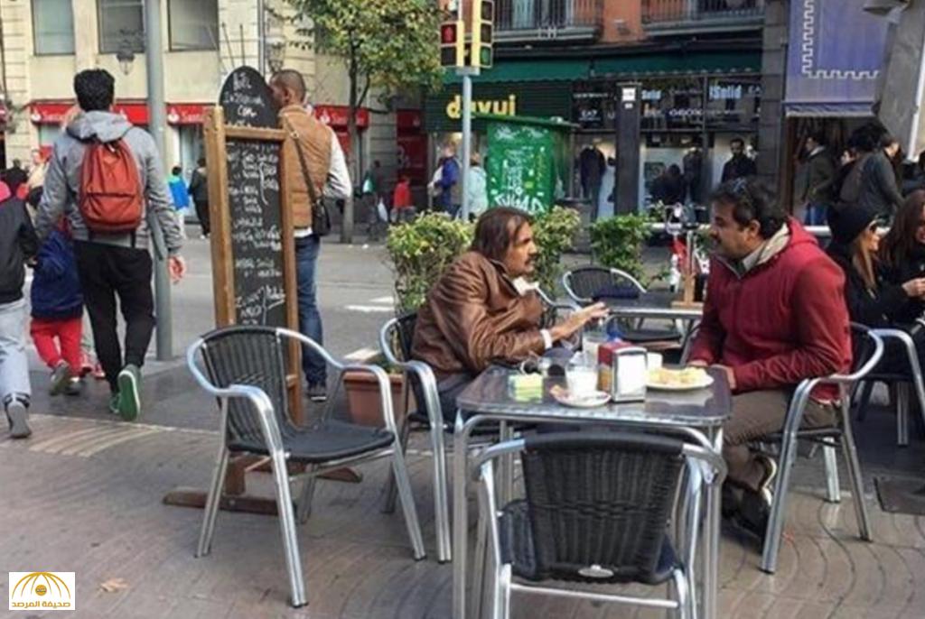 بالصور : أمير قطر مع والده في إسبانيا قبيل كلاسيكو برشلونة و ريال مدريد