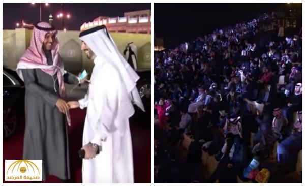 بالفيديو : خالد عبدالرحمن يُشعل حفل سوق واقف .. 3 آلاف يُرددون مجموعة من أفضل أغانيه !