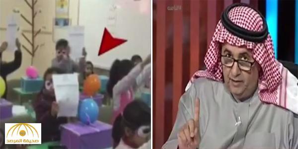 """بالفيديو .. ردة فعل طفلة حرمتها معلمتها من الاحتفال مع زميلاتها : """"فشلتني وقهرتني المعلمة"""""""