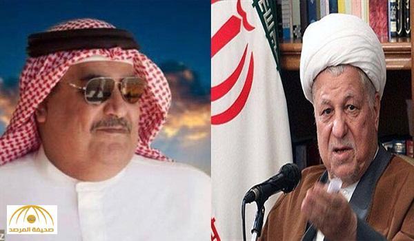 """بعدما ترحم على """"رفسنجاني"""" .. وزير خارجية البحرين يدعو للوقوف دقيقة صمت على روحه !"""