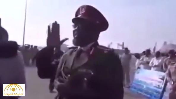 """خلال تمرين """"فلك2"""" .. بالفيديو: ضابط سوداني يحذر المتربصين بأمن المملكة : """"العبوا بعيد"""""""