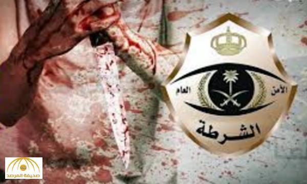 """يداه ملطخة بالدماء وصرخ: """"قتلت زوجتي"""".. تفاصيل مثيرة في واقعة نحر مواطن لزوجته الأجنبية بالطائف !"""