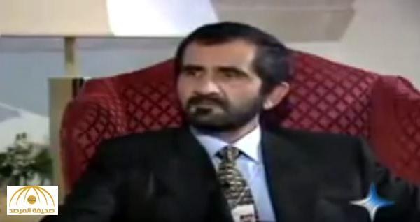 """بالفيديو .. الشيخ محمد بن راشد يعلق على محاربة الفساد في دبي """"من يفسد نقطع رأسه"""""""