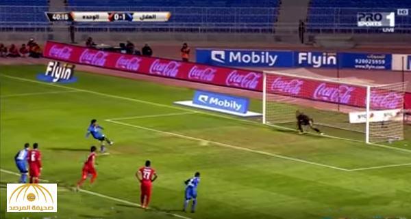 بالفيديو : الهلال يهزم الوحدة بثلاثة أهداف  مقابل هدفين