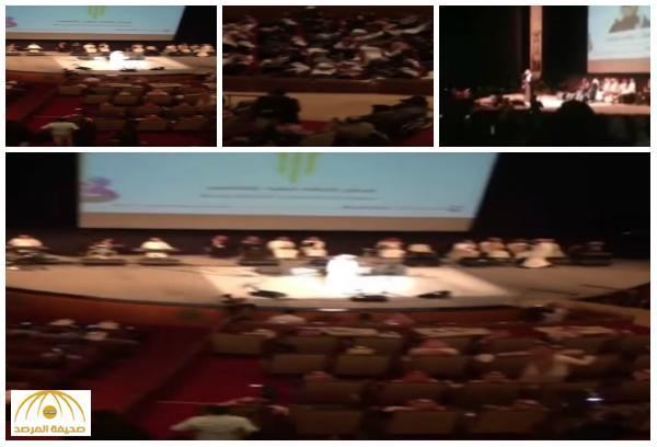 وسط تفاعل كبير .. شاهد : الحفل الغنائي من داخل مركز الملك فهد الثقافي بالرياض