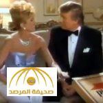 """بالفيديو : ترامب يظهر مع زوجته الأولى """"ايفا"""" بإعلان قديم لأحد متاجر البيتزا الشهيرة"""