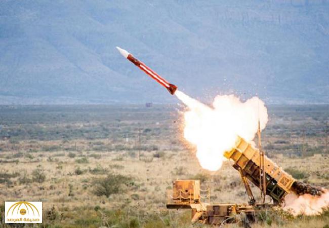 أطلقته المليشيات الحوثية باتجاة نجران..بالفيديو:قوات الدفاع الجوي تعترض صاروخاً باليستي