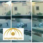 """""""تبادل لإطلاق النار""""..شاهد:  كيف قتل رجل الأمن إرهابي فاجأه وحاول سرقة دوريته بالرياض؟"""