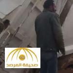 شاهد.. مقطع فيديو يوثق لحظة انهيار طريق بشاحنة في شقراء