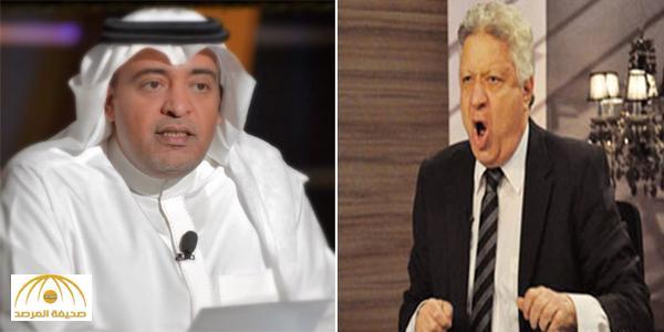 """بالفيديو .. مرتضى منصور يهاجم وليد الفراج : """"أنت سفيه وإحنا ما بنخدش رز من حد"""""""