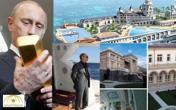 """مجلة """"تايم"""" تكشف مفاجآت عن ثروات بوتين السرية"""