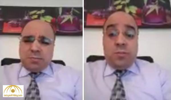 """بالفيديو .. الكاتب الجزائري """"أنور مالك"""" يُجيب على سؤال يلاحقه : لماذا يدافع عن السعودية ؟"""