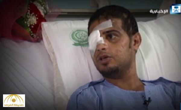 فقد يده وعينه اليمنى..بالفيديو .. وكيل رقيب مظلي يروي قصة إصابته : أتمنى  تعود يدي لهذا السبب!